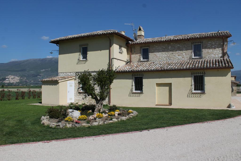 appartamenti per gruppi a montefalco
