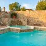 casa vacanze con piscina al trasimeno