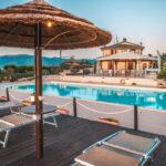 agriturismo con ristorante e piscina a spoleto